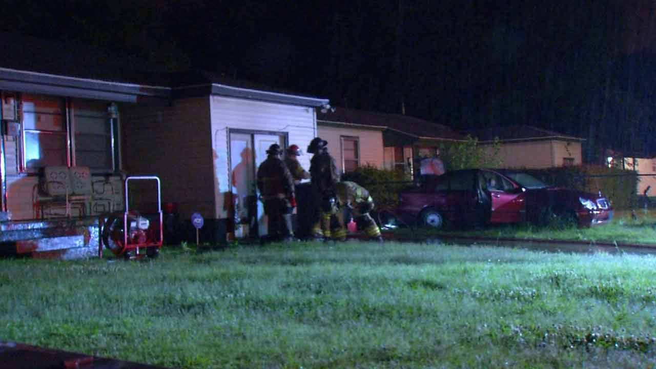 Tulsa Car, House Fire Under Investigation