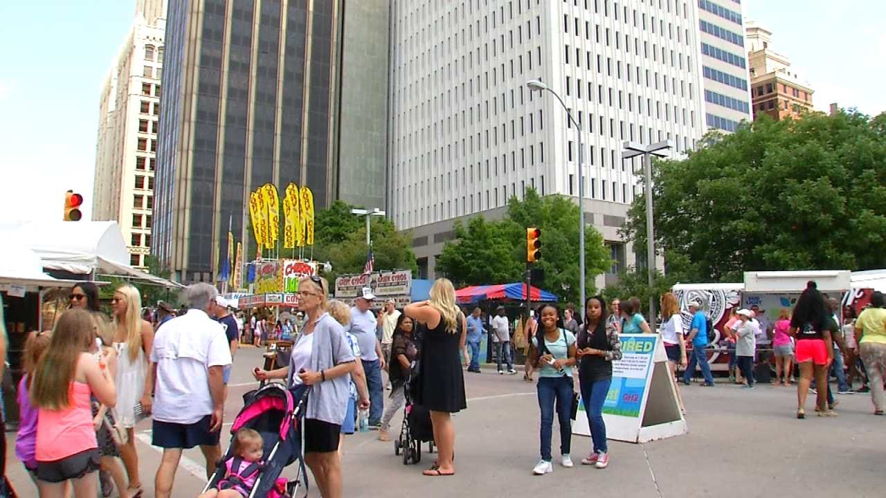 Downtown Festivals Bring In Art, Fun, Money To Tulsa