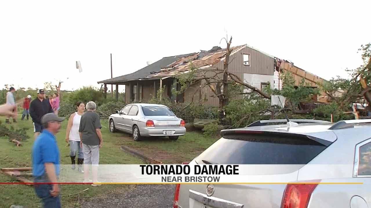 Bristow Community Helping Family, Animal Rescue After Devastating Storm