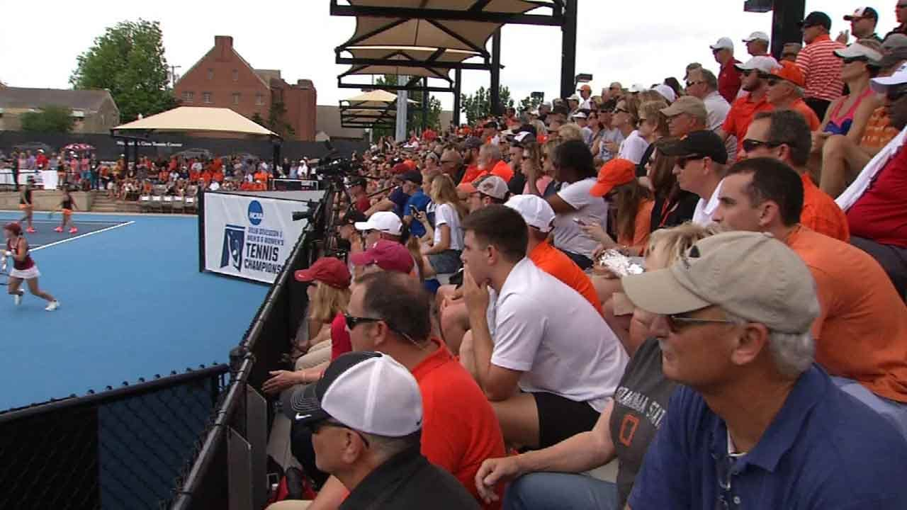 TU's Tennis Center Hosts NCAA Championship; Brings Economic Boost