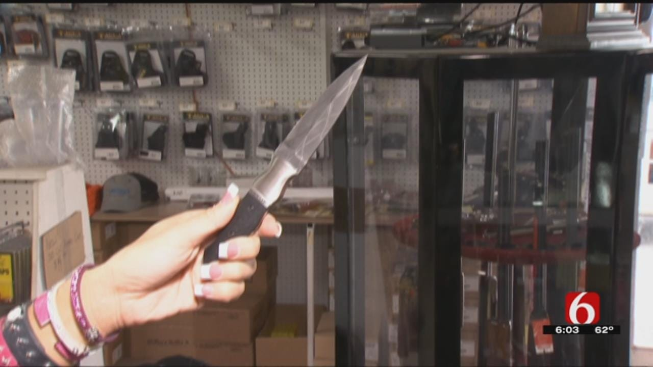 Knife Law Adds Sword Canes To List Of Items Oklahomans Can Legally Carry