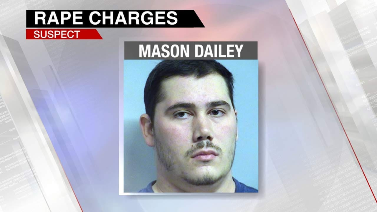Tulsa Man Arrested After Approaching Officer, Admitting To Rape