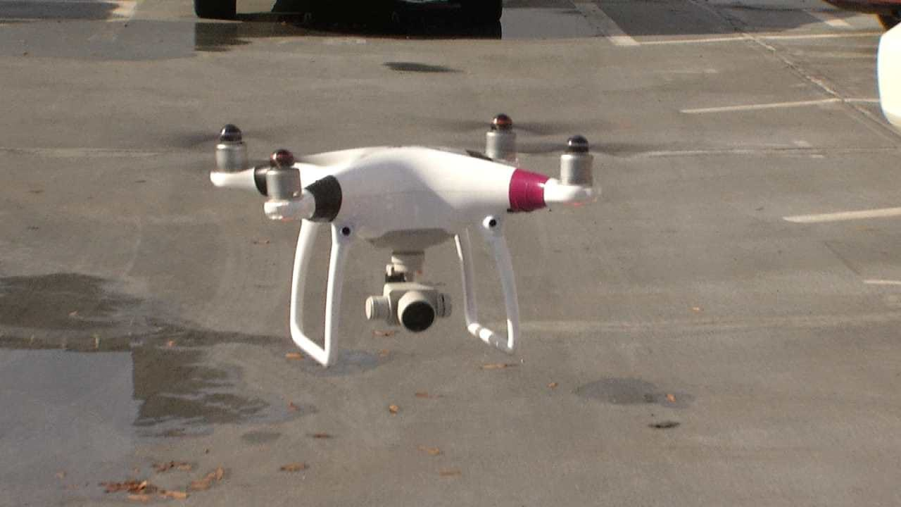Drone Helps Chase Down Suspects In Tulsa Robbery