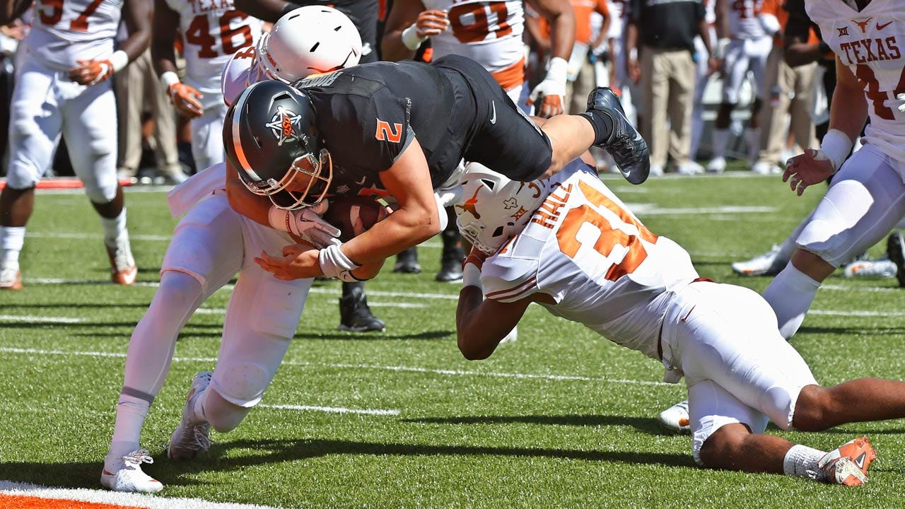 Cowboys Take Down Texas In Stillwater For First Time Since 1997