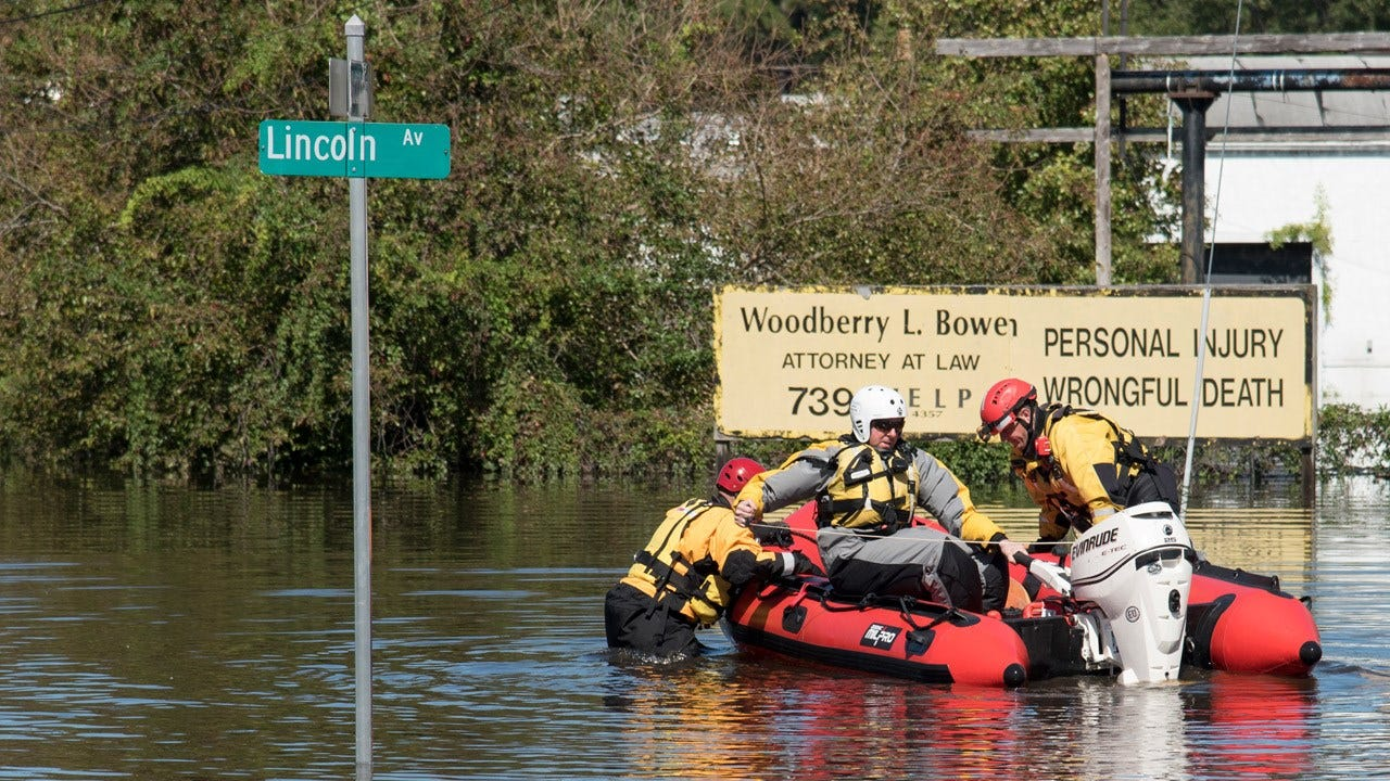 North Carolina Urges More People To Flee The Floods After Hurricane Matthew