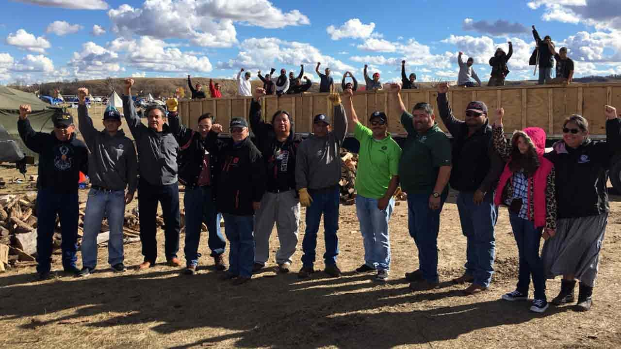 Cherokee Nation Members Make Second Trip To North Dakota