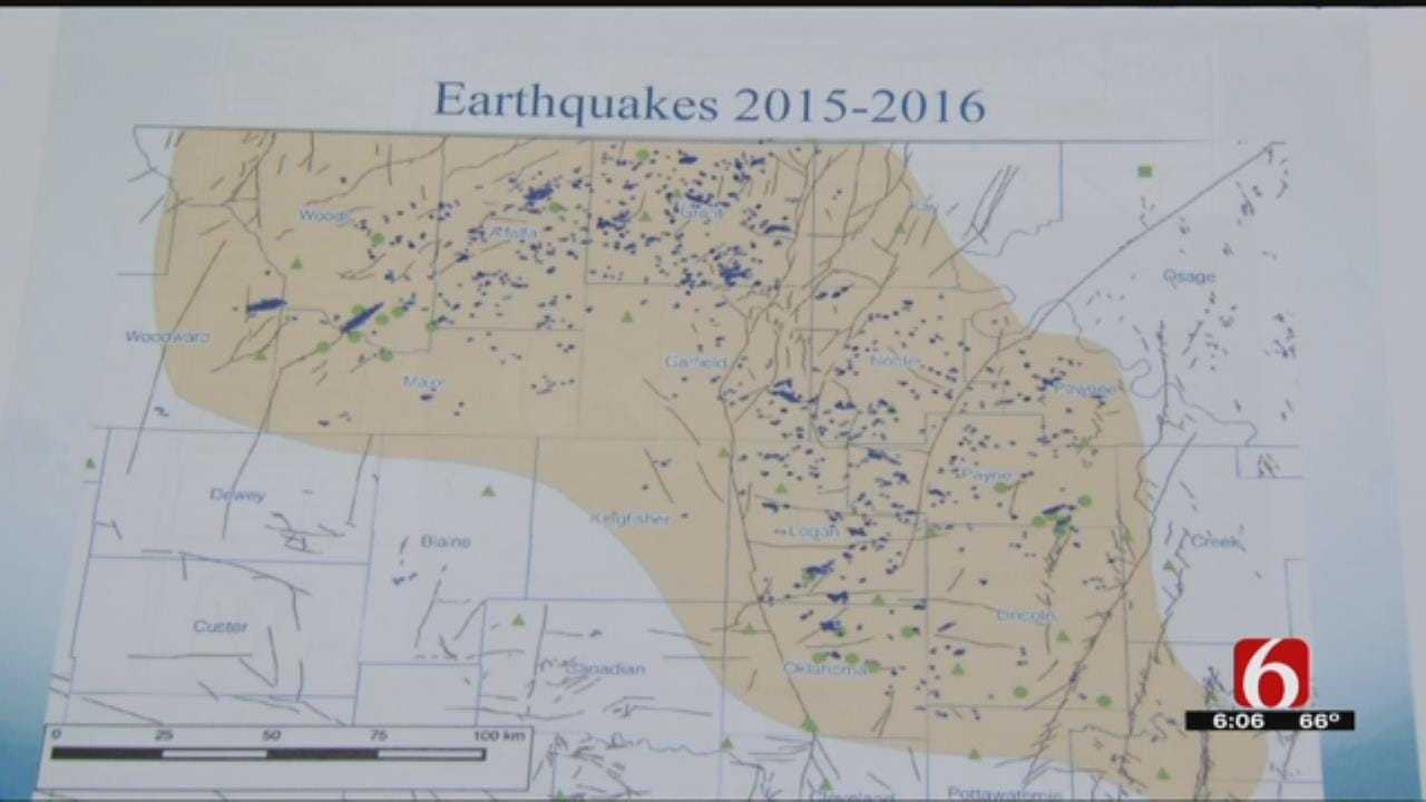 Oklahoma Geological Survey Says State Is Having Fewer Quakes Than 2015