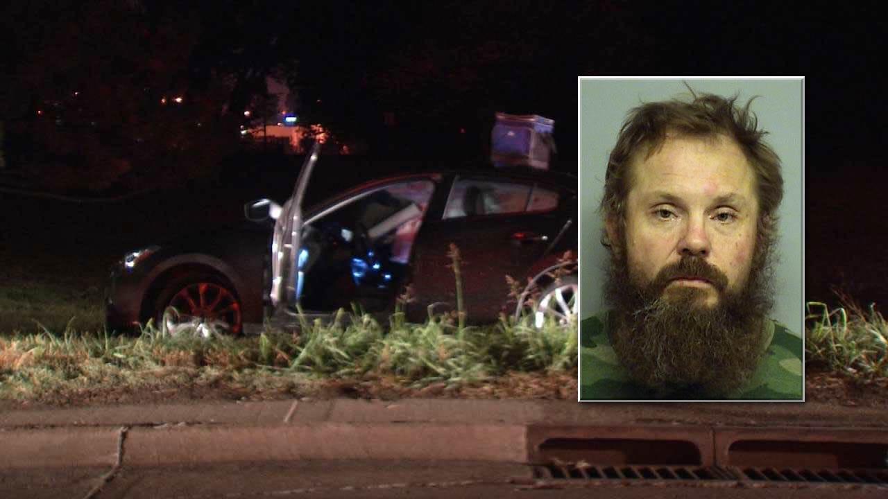 Tulsa Man Crashes During High-Speed Police Chase