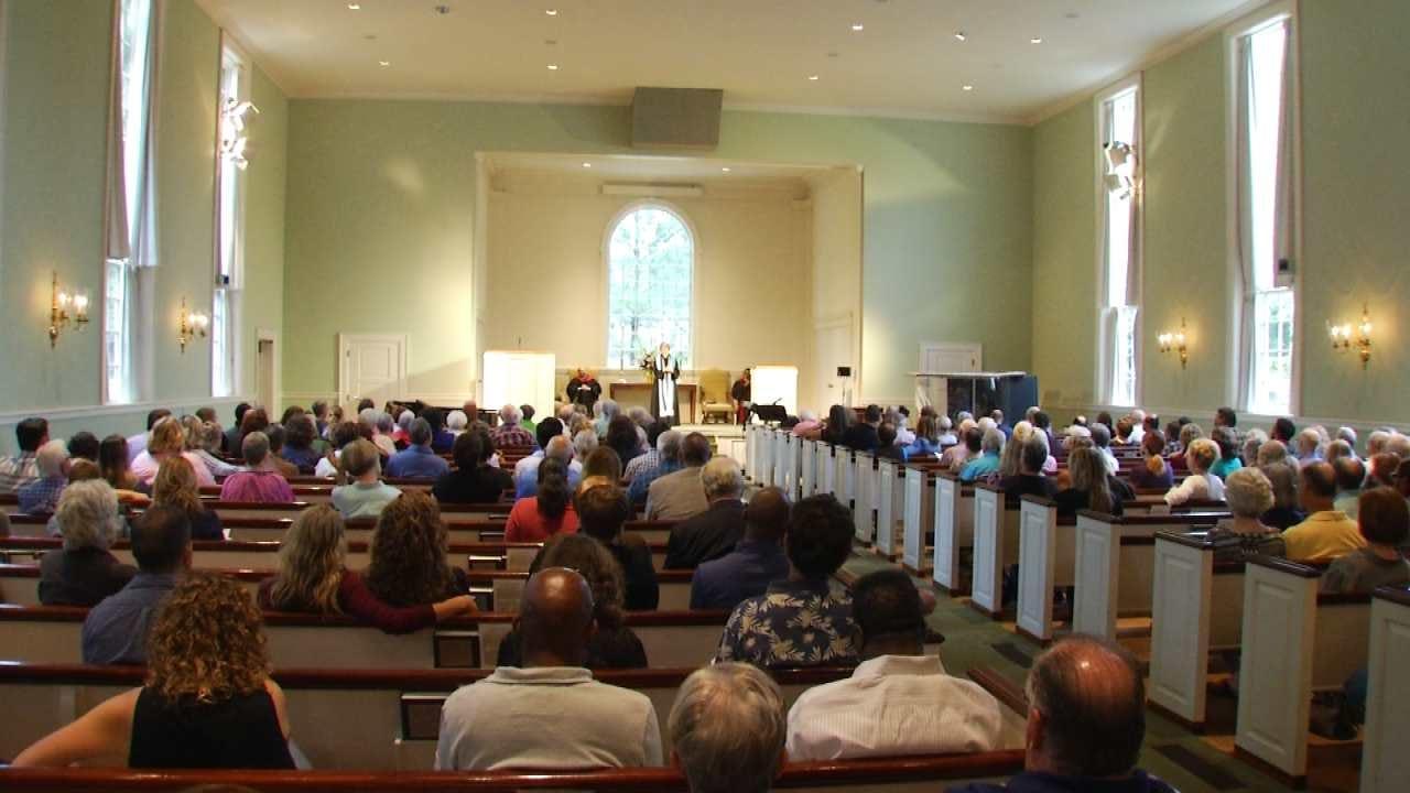 Tulsa Church's Sunday Sermon Focuses On Healing