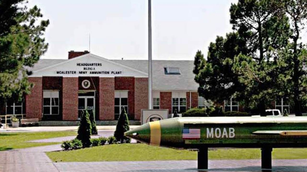 Huge Bomb Dropped In Afghanistan Made In McAlester