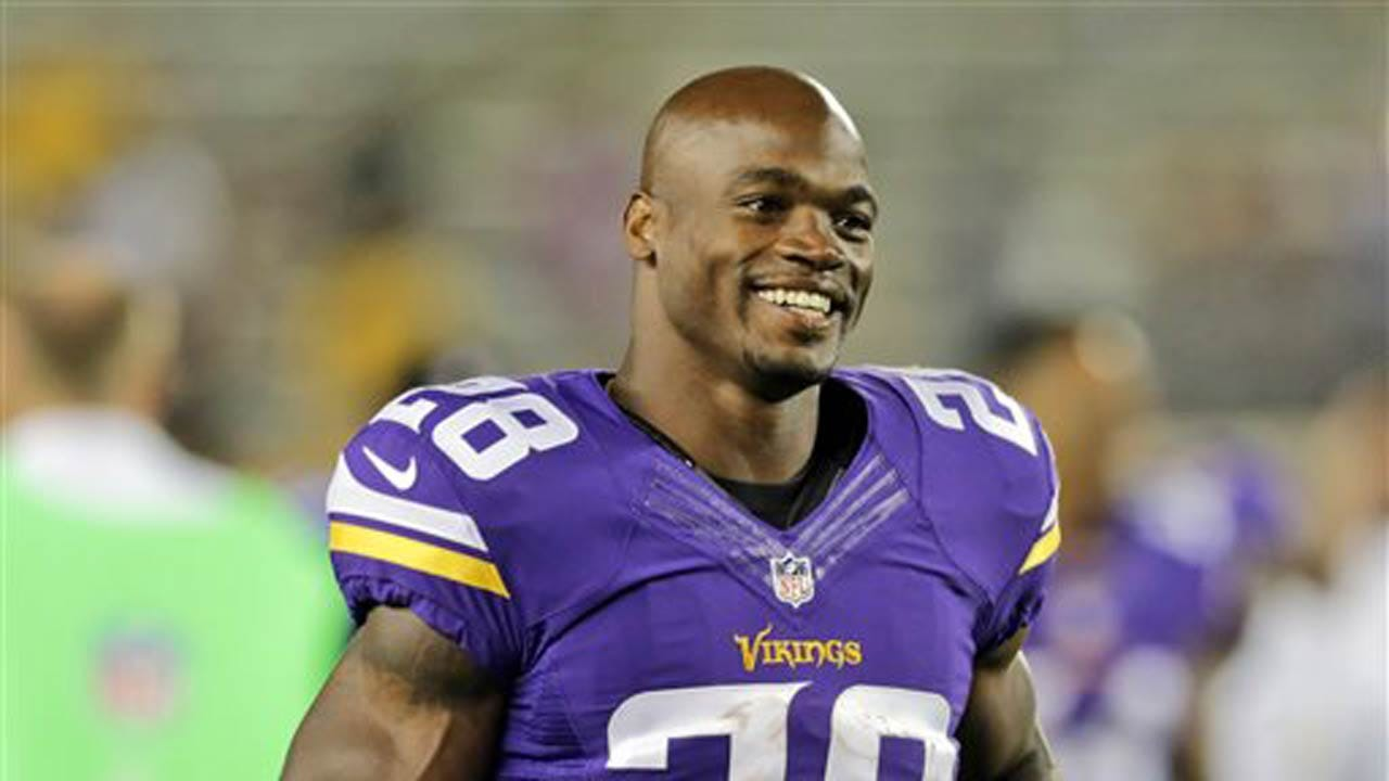 Source: Adrian Peterson Signs With New Orleans Saints