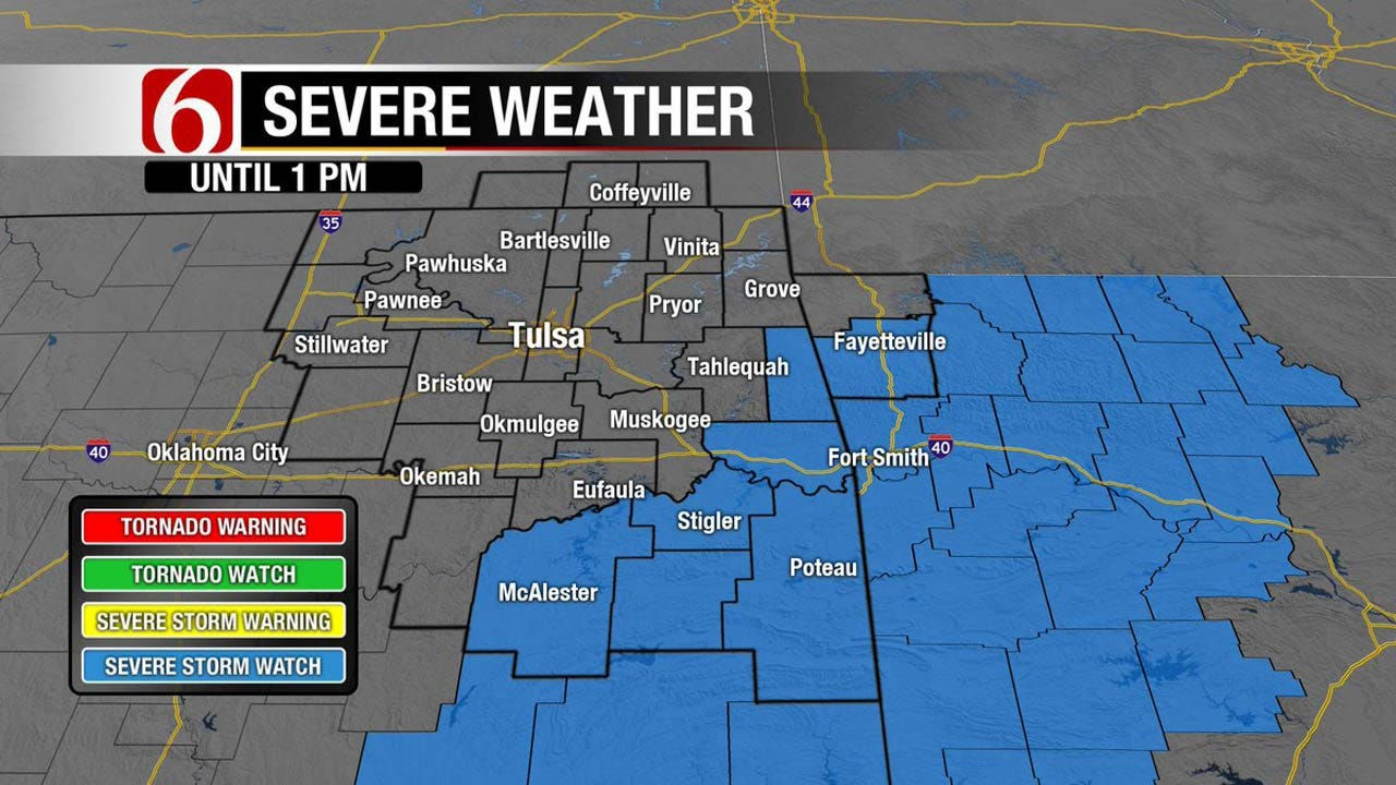 Front Brings Cooler Temps To Eastern Oklahoma