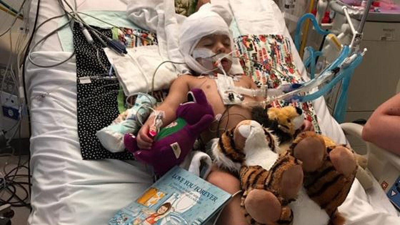 Family Raises Money For Jay Toddler In Coma After Nearly Drowning