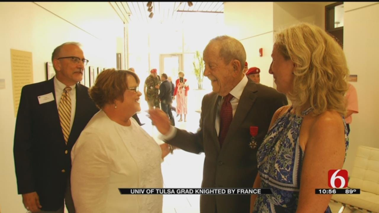 WWII Veteran, Tulsa University Grad Knighted By France