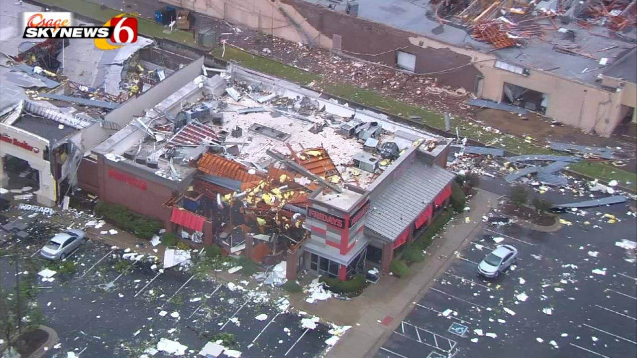 25 Homes, 152 Businesses Impacted By Tulsa Tornado