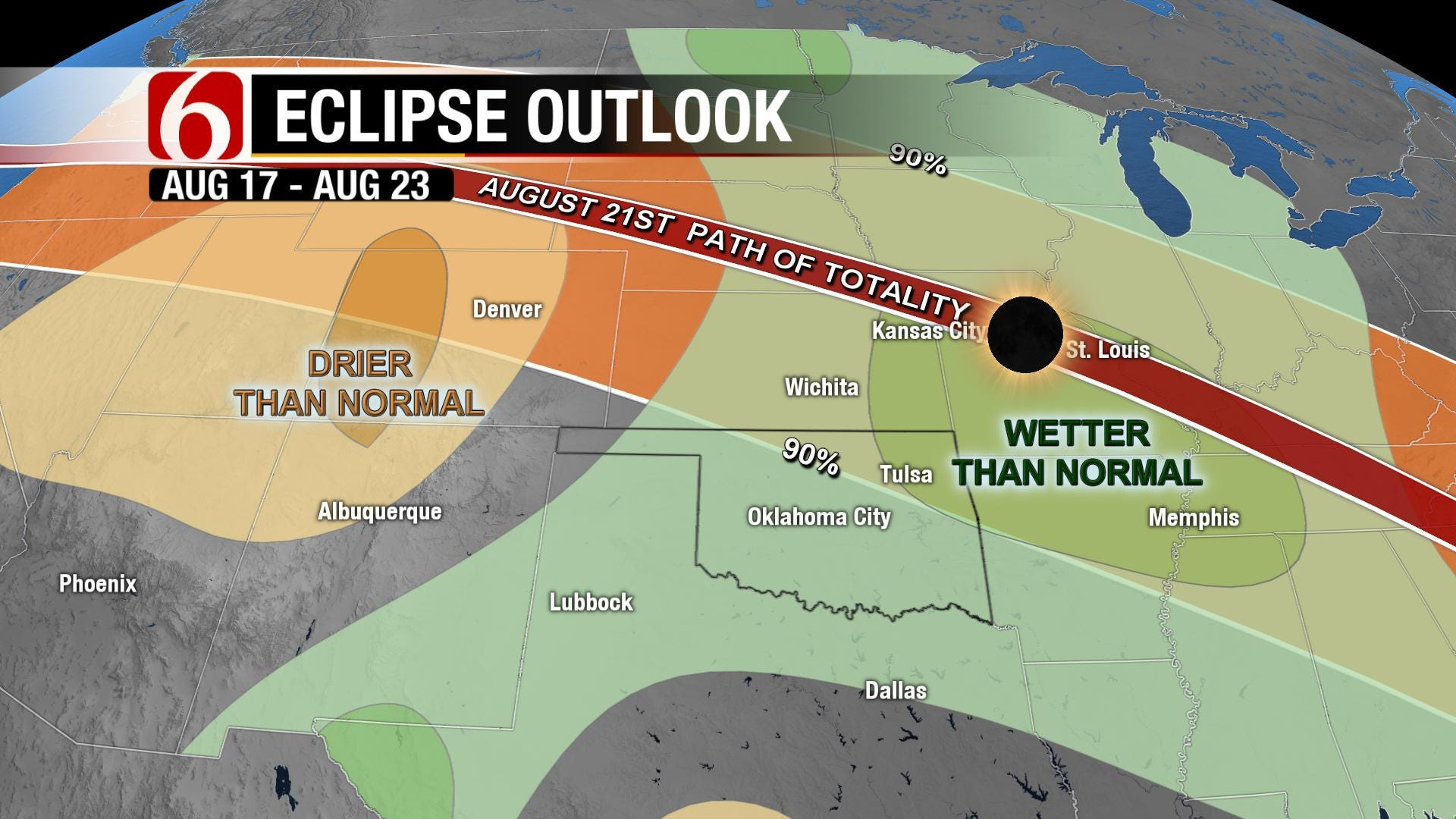 In the Wake of Weekend Tornadoes, More Inclement Weather Arrives