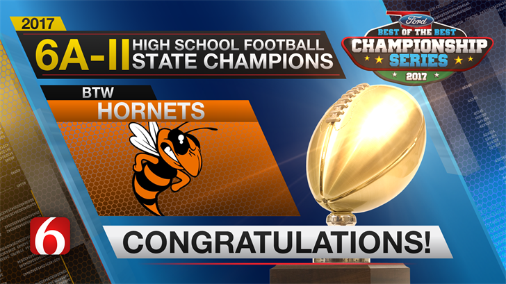 Booker T. Takes 6A-II State Title Over Bixby, 28-21