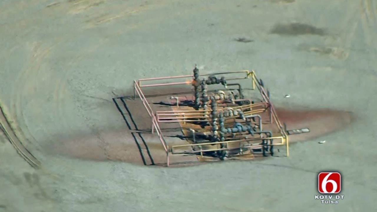 One Injured In Pittsburg County Gas Well Explosion