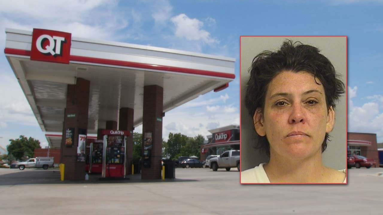Woman Arrested After Child Shows Up Alone At Tulsa QuikTrip