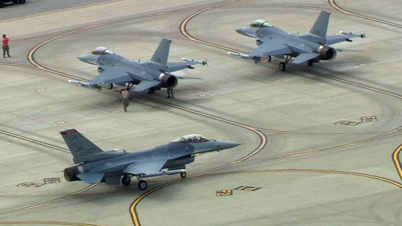 Air Force To Award Radar Upgrade For Tulsa-Based F-16s