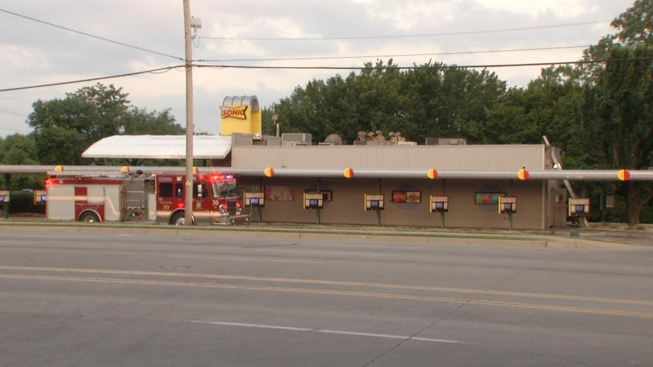 Grease Catches On Fire At Tulsa Restaurant