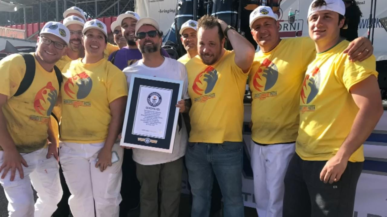 Andolini's Owner Takes Part In World Record Attempt
