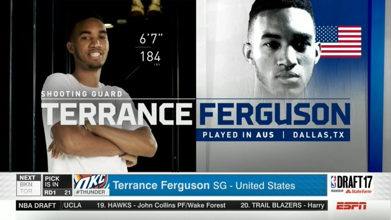 Terrance Ferguson's Family Happy He's Returning To Oklahoma