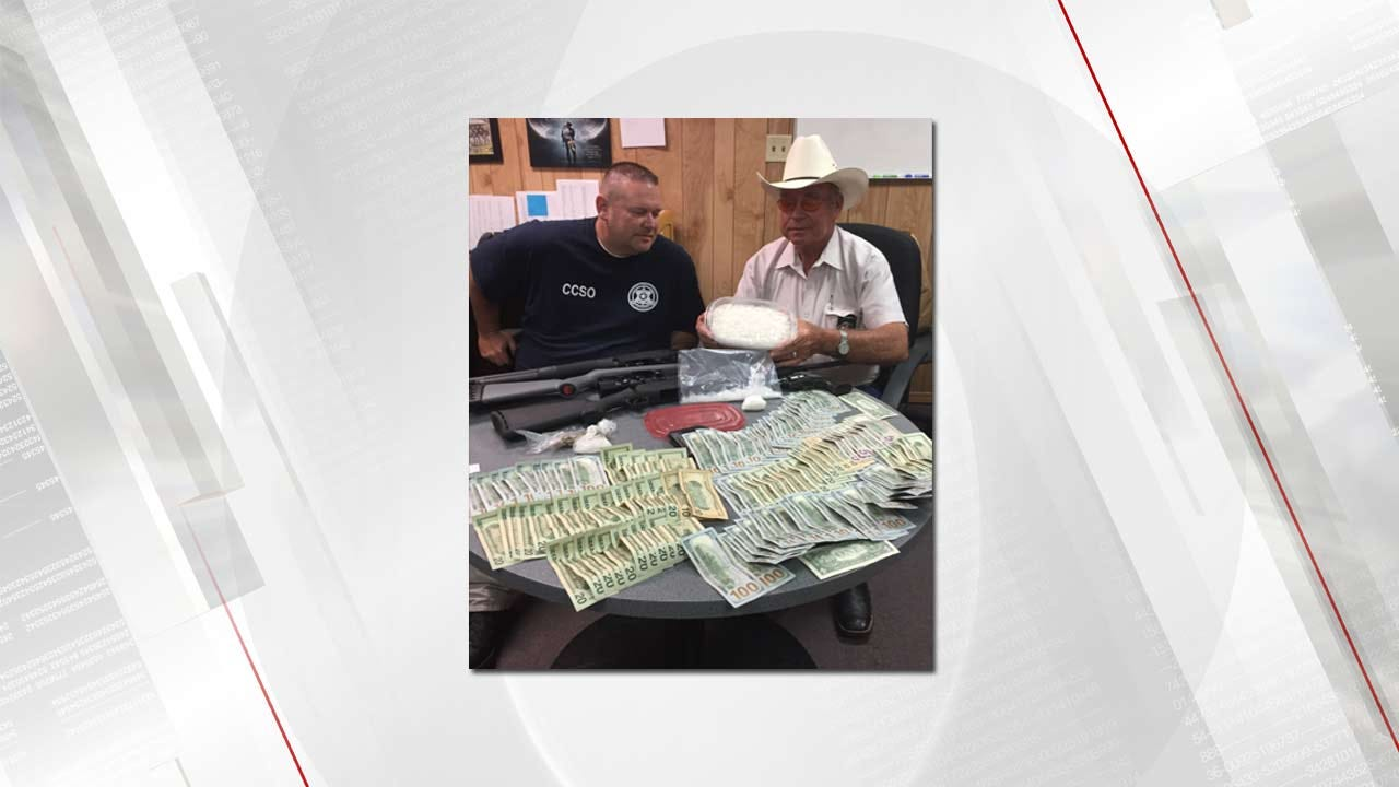 Nearly 2 Pounds Of Meth Seized By Cherokee County Sheriff's Office