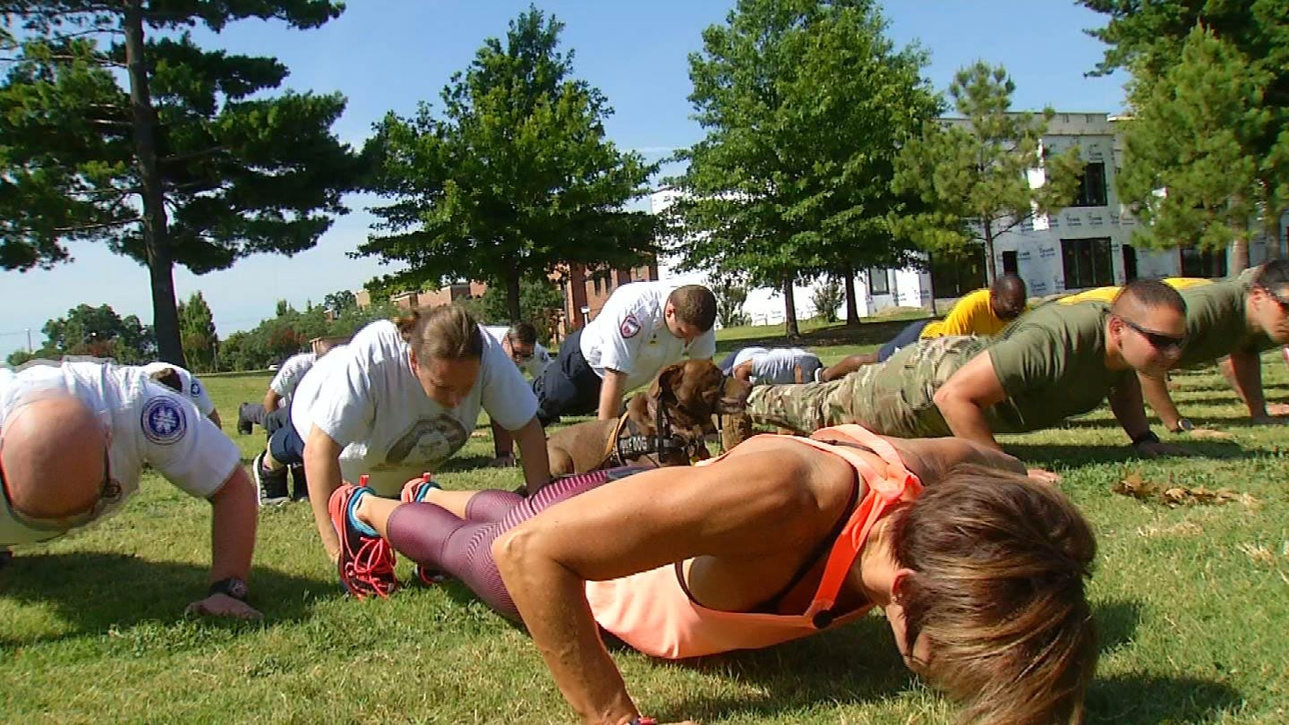 News On 6's Lori Fullbright Participates In '22 Pushup Challenge' To Raise Awareness Of Veteran Suicide