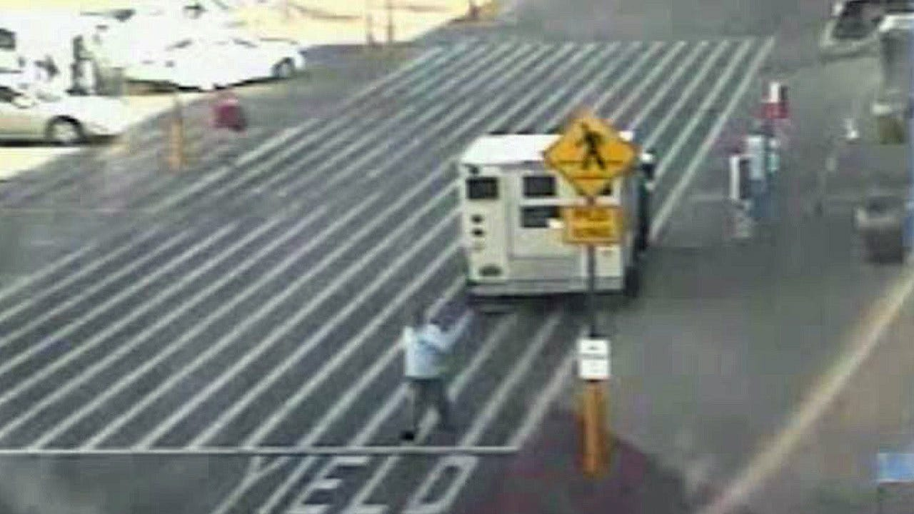 OSBI Releases Video Of Attempted Robbery Of Armored Truck In Stilwell