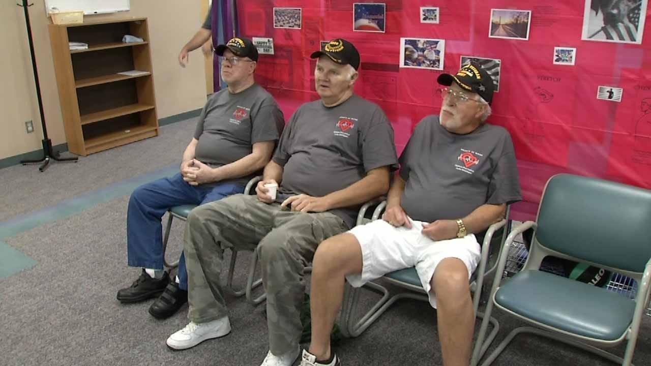 Rehab Sessions Strengthen Bond Of Three OK Vietnam Veterans