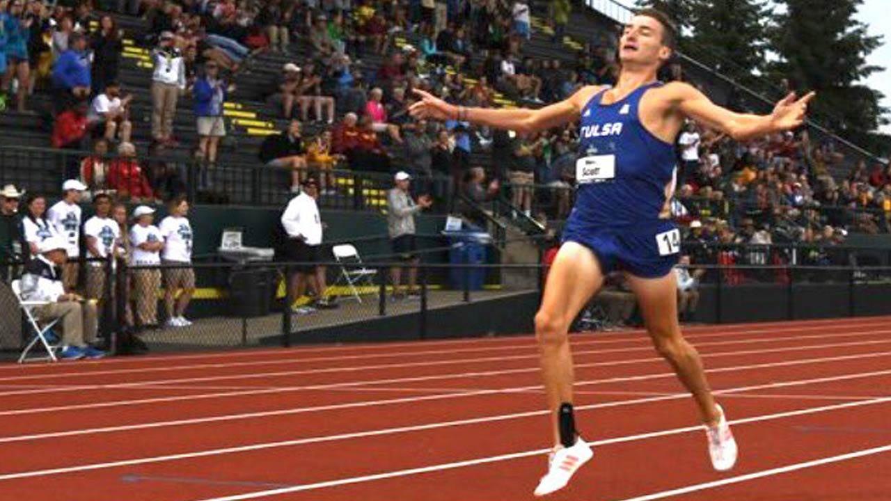 National Champion Marc Scott To Run Final Race For TU