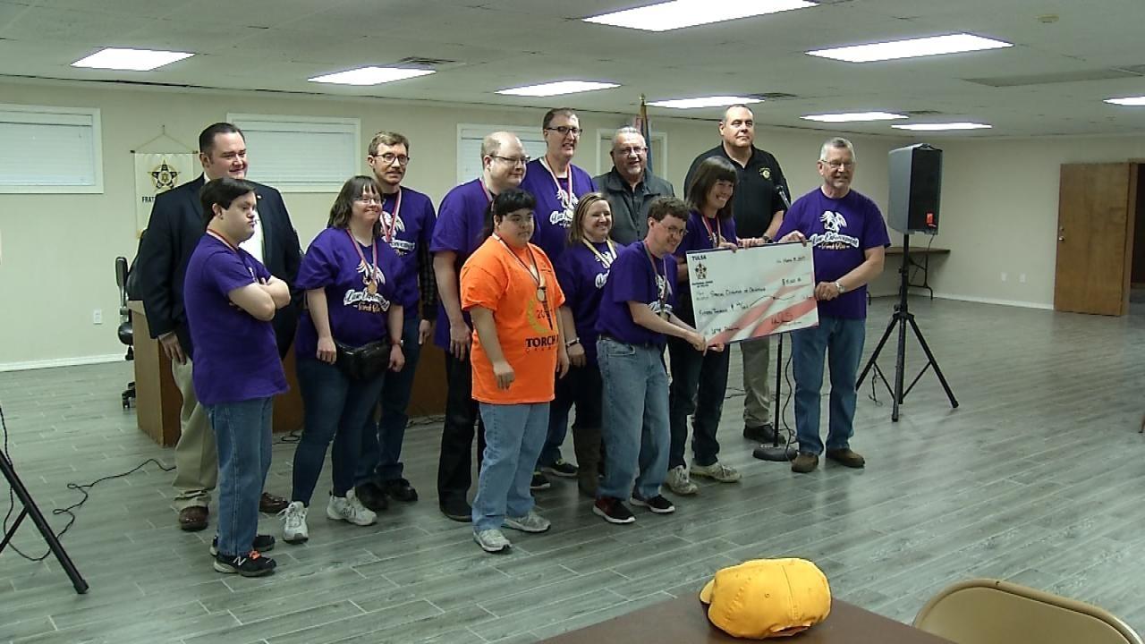 Tulsa FOP Lodge Donates $15,000 To Special Olympics