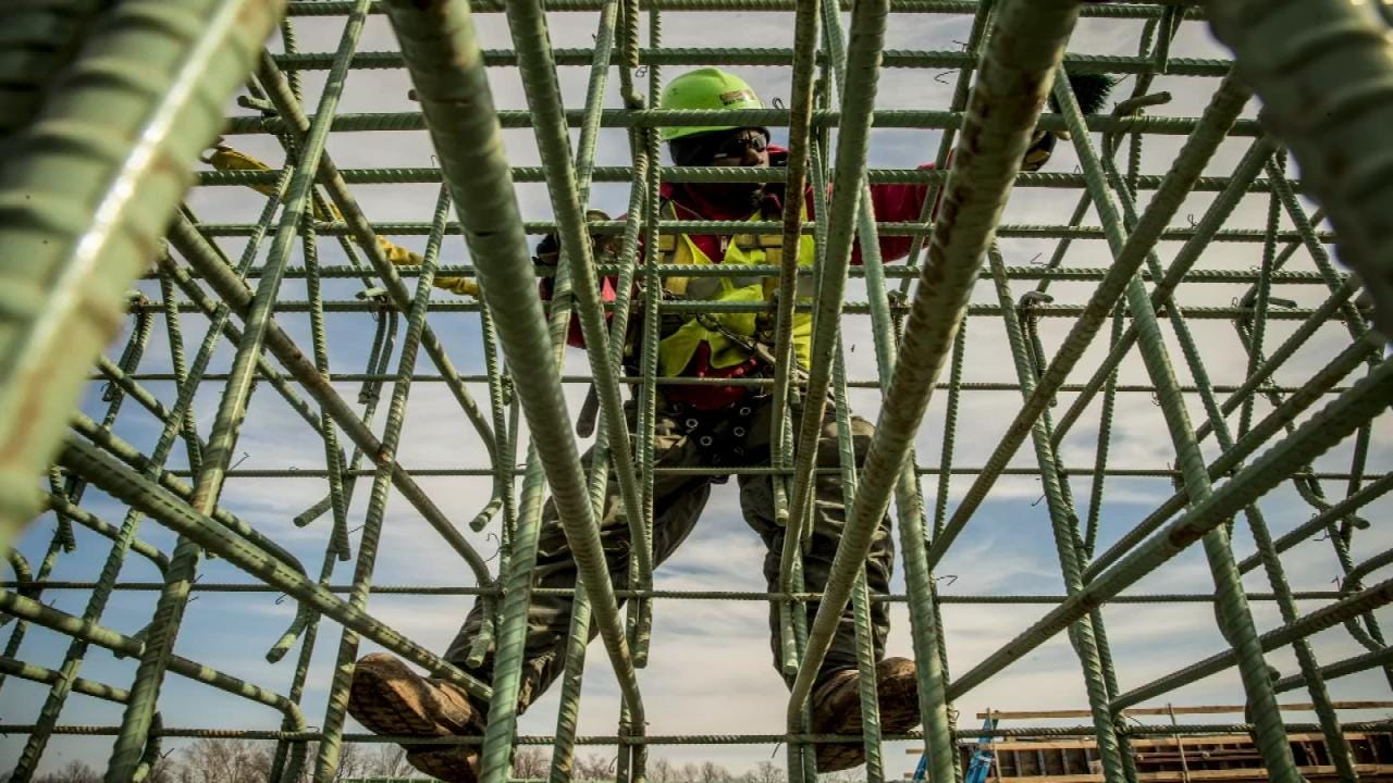 Photographer Has Dream Job Capturing Progress Of Tulsa's Gathering Place