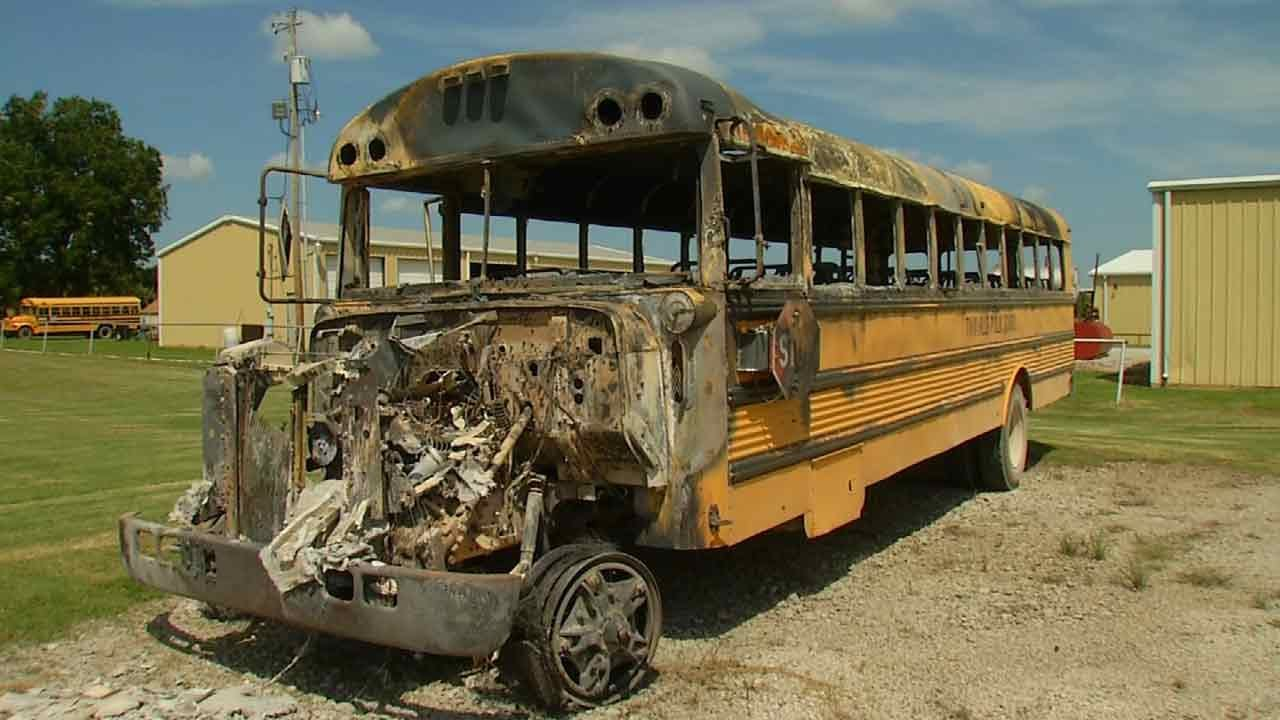 Teens Sentenced To Prison For Stealing, Burning Twin Hills School Bus