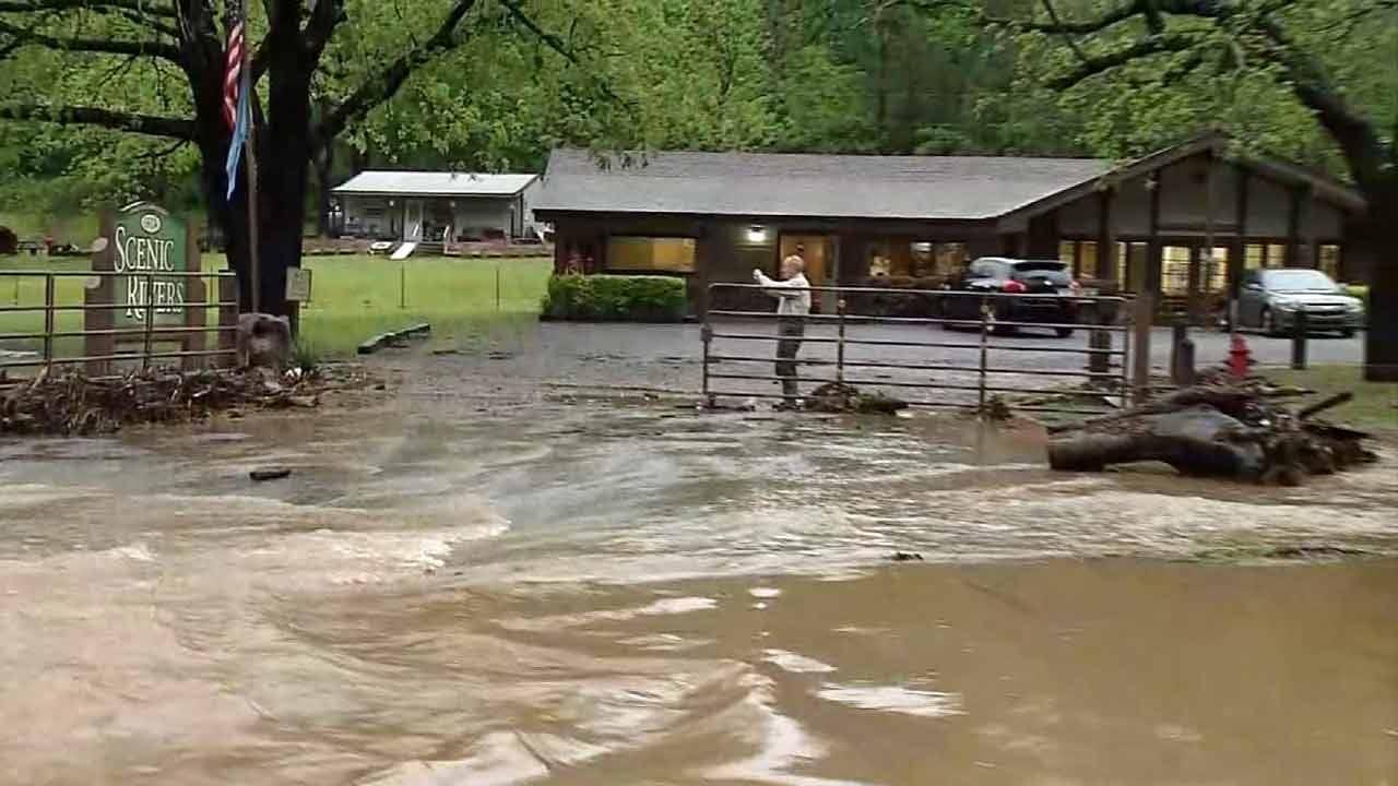 Heavy Rains Leave Near-Record Flooding Along Illinois River