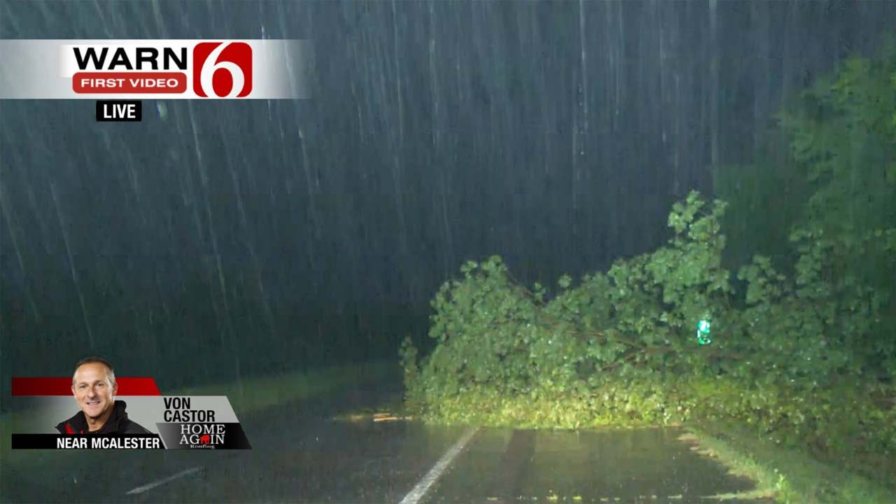 Possible Tornado Touches Down In Wagoner; Severe Storms Across NE OK