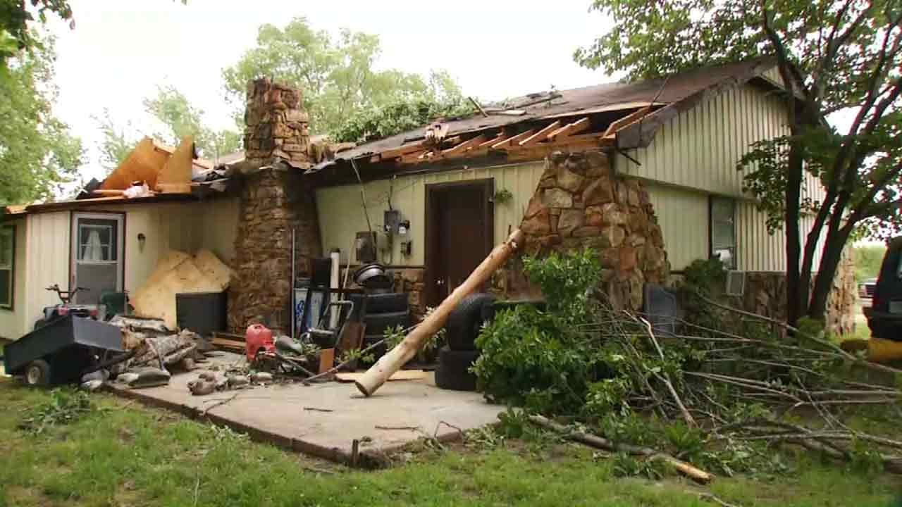 Wagoner Families Making Repairs After Damaging Storms