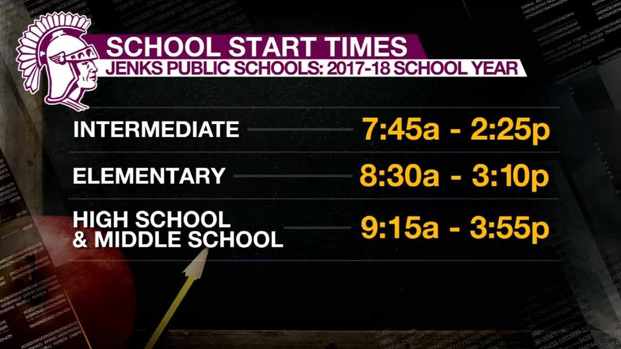 Parents Express Concerns With New Jenks School Start Times