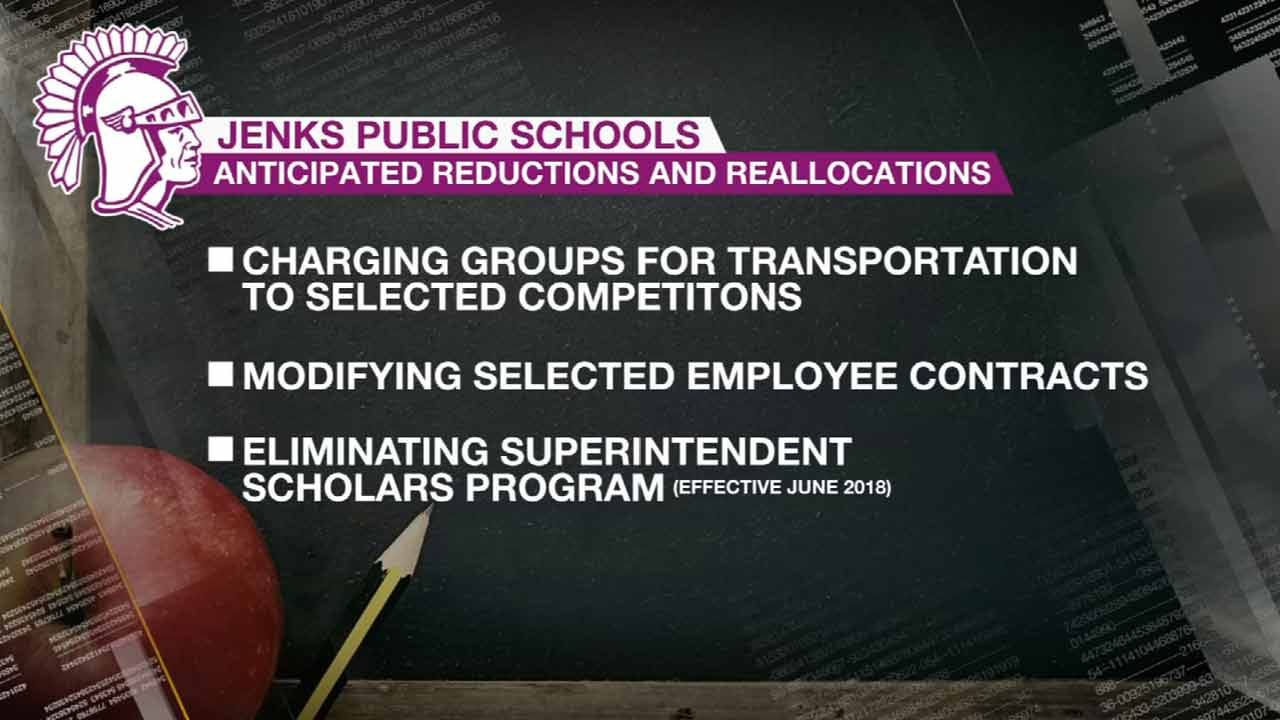 Jenks Public Schools Makes Nearly $1.5M In Cuts