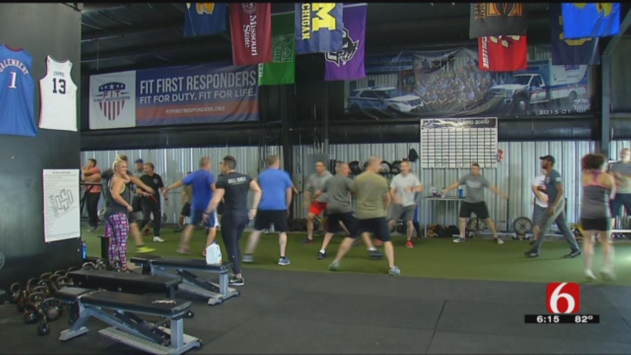 Tulsa-Area First Responders Meet 25-Week Fitness Challenge