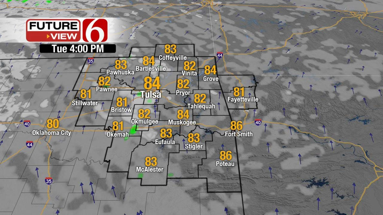 Chance Of Storms Returning To Oklahoma