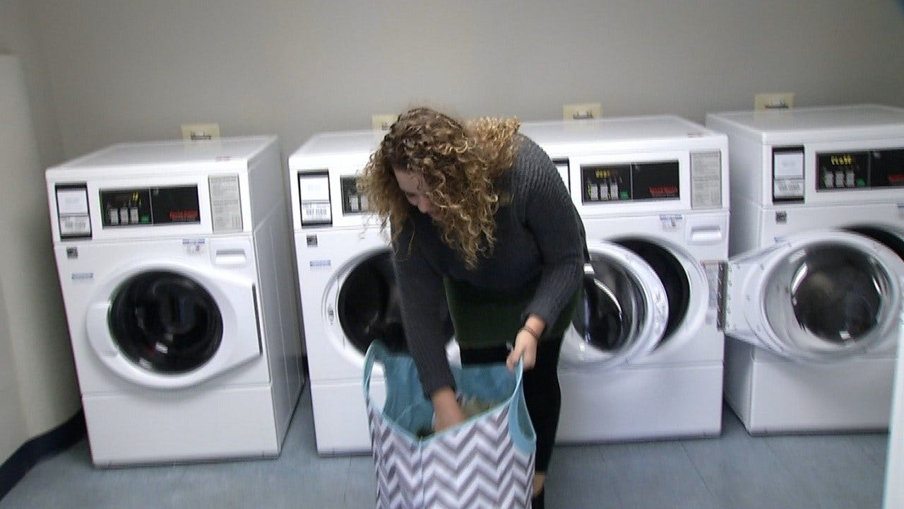 Mobile App Makes Laundry Easy At Oral Roberts University