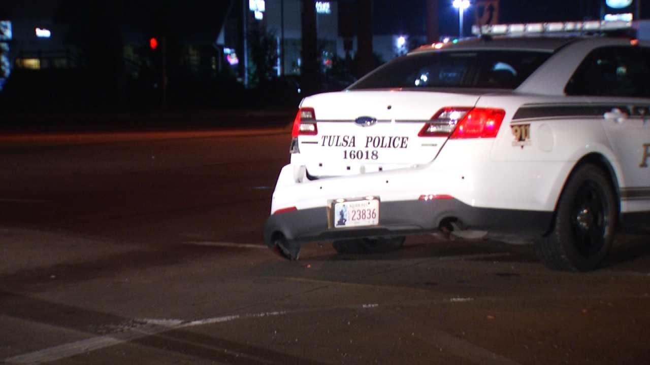 SUV Driver Rear-Ends Tulsa Police Car