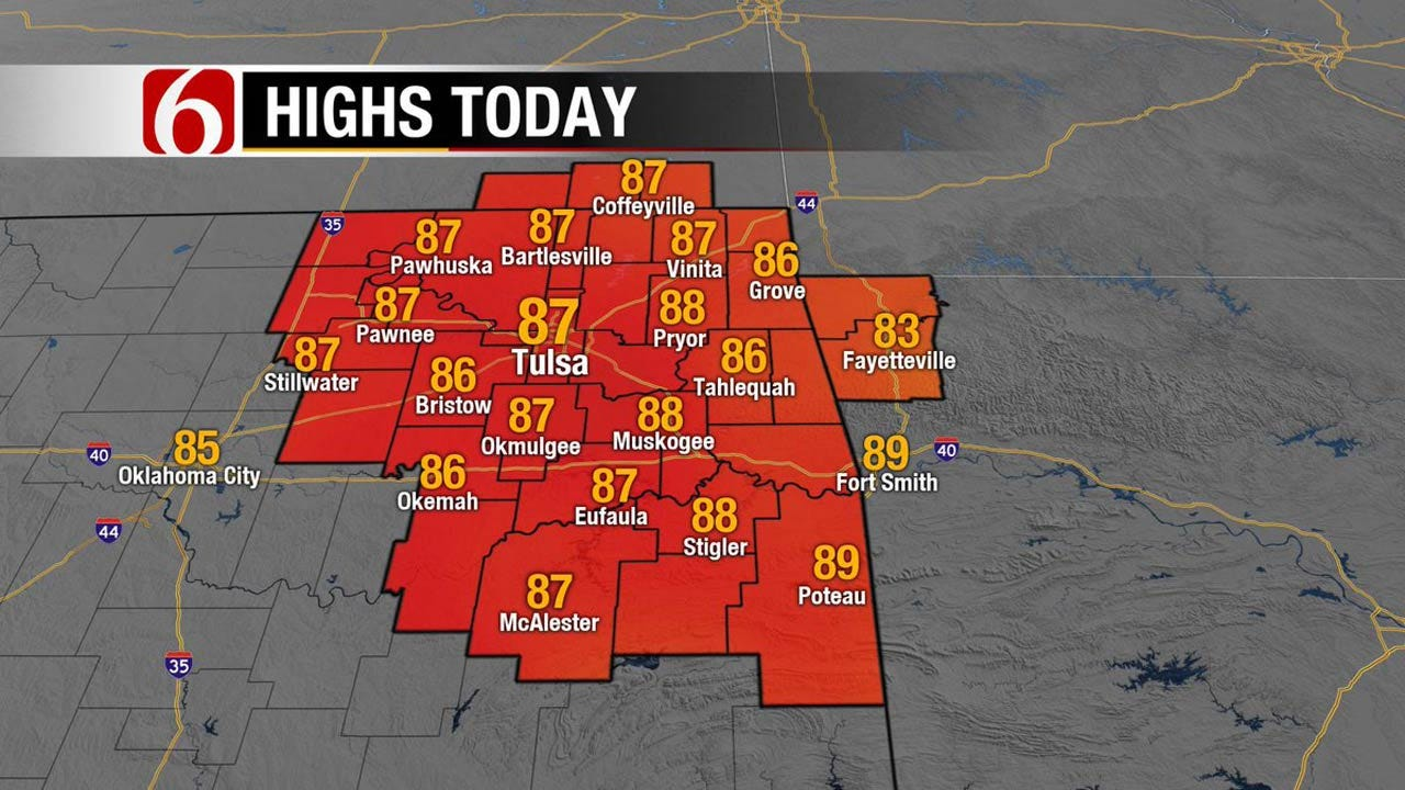 Storms, Rain Return To Eastern Oklahoma By Midweek
