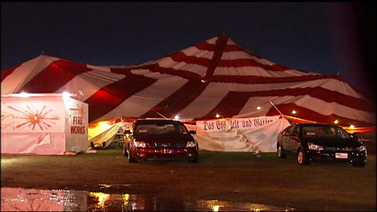 Oktoberfest Organizers Prepare For High Winds, Remember Past Destruction