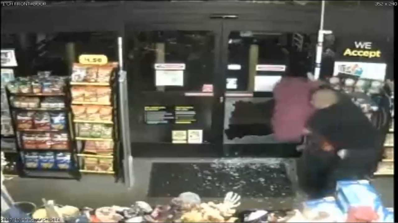 Employee 'Bear Hugs' Man To Stop Tulsa Store Robbery