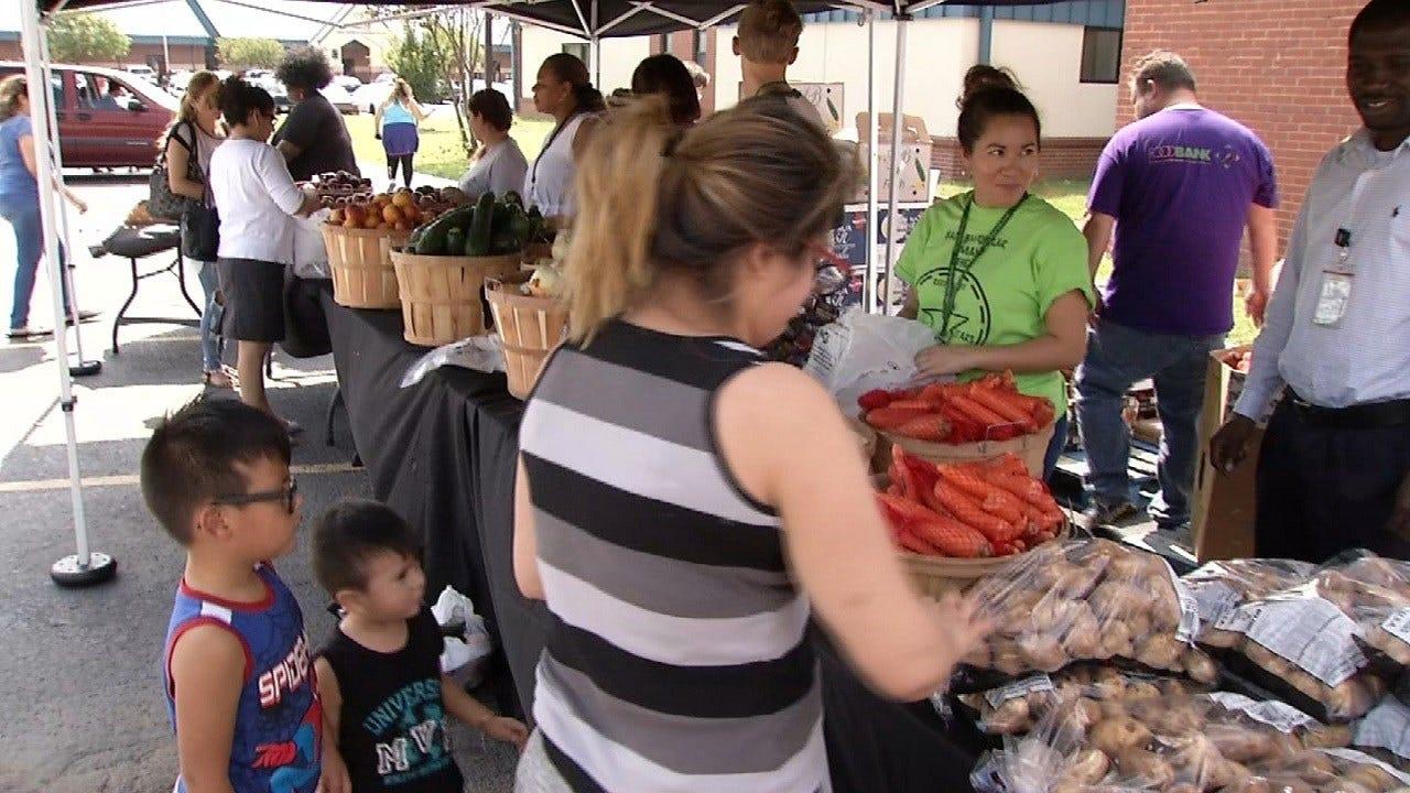 Free Farmers Market Part Of Food For Kids Program