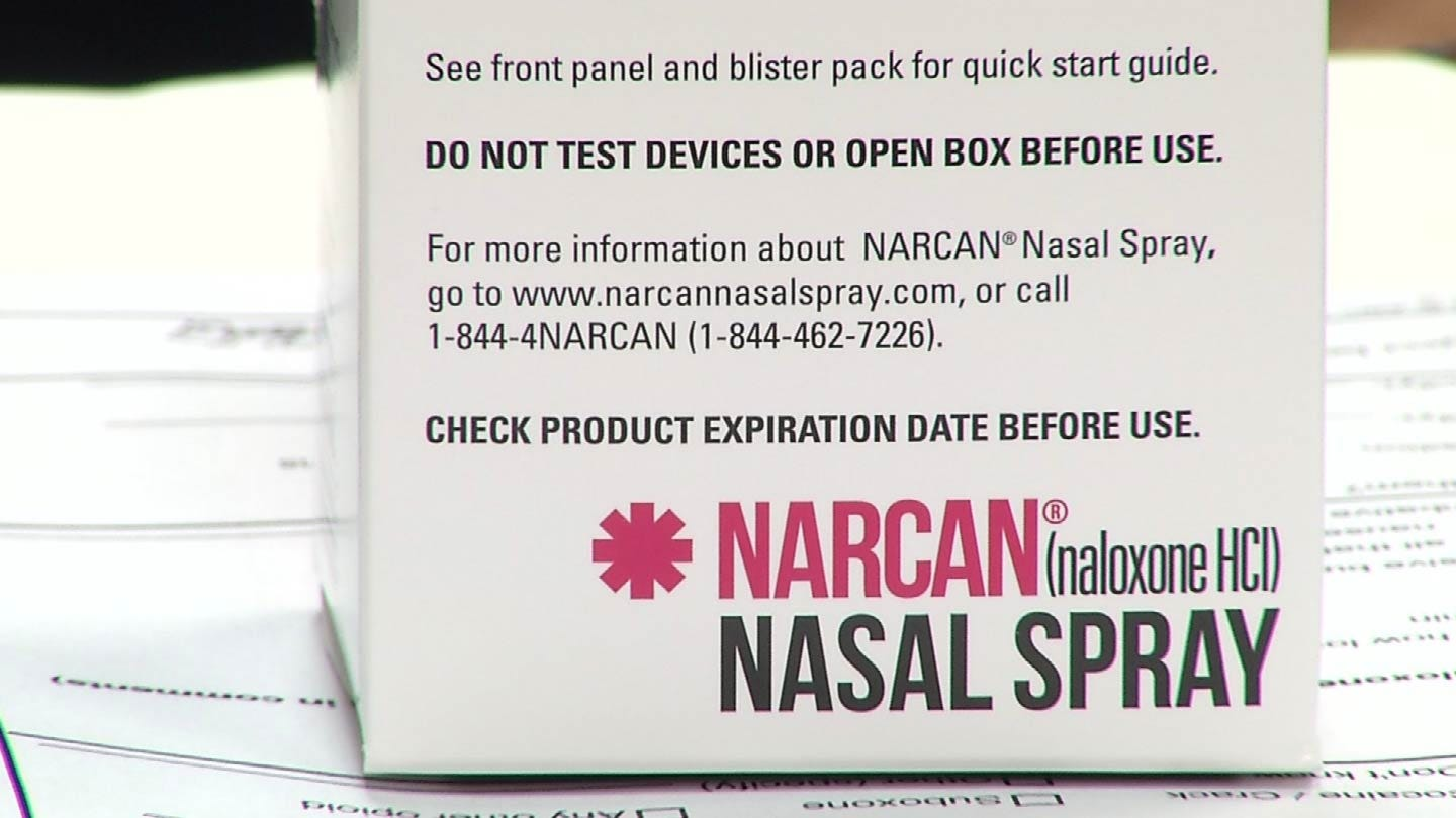 Claremore Police Save Man's Life With Narcan