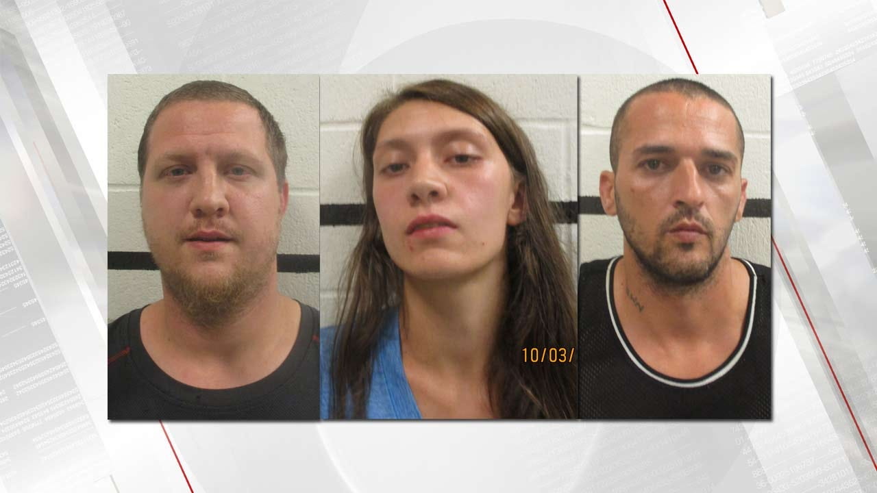3 Arrested After Drugs Found In Pittsburg County Home With Child Inside